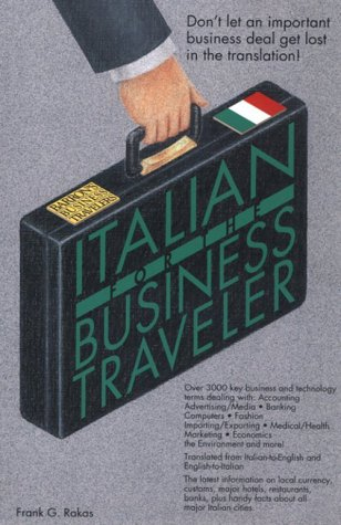 9780812017717: Italian for the Business Traveler (Bilingual Business Guides)