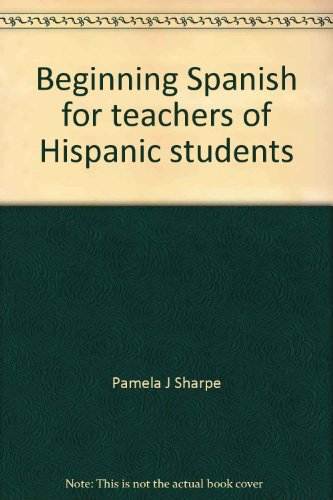 9780812018226: Beginning Spanish for teachers of Hispanic students: Dialogue Cards