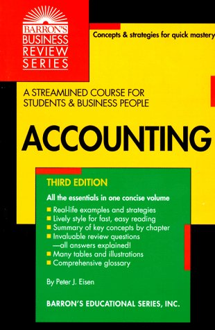 9780812019179: Accounting (Barron's Business Review Series)