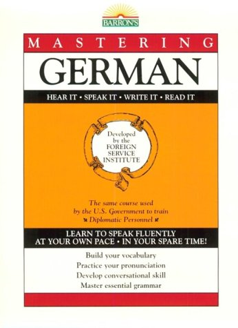 9780812022100: Mastering German: Book Only (Mastering Series: Level 1)