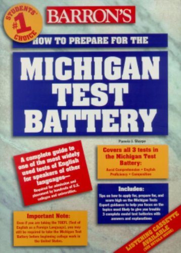 9780812024197: How to Prepare for the Michigan Test Battery