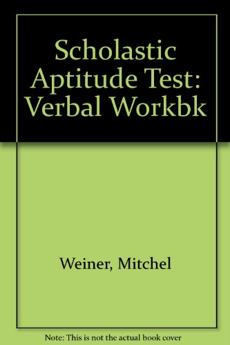9780812024340: Barron's verbal workbook for college entrance examinations (SAT)