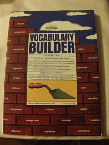 9780812024494: Vocabulary Builder