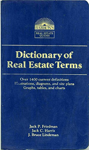 9780812025217: Dictionary of real estate terms