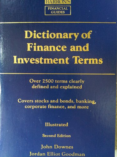 Dictionary for Finance and Investment Terms