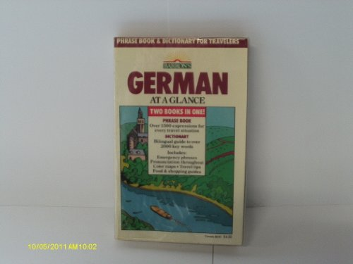 German at a Glance (0812027140) by Strutz, Henry
