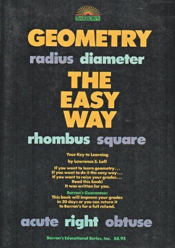 9780812027181: Geometry the Easy Way