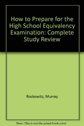 9780812027631: How to Prepare for the High School Equivalency Examination: Complete Study Review