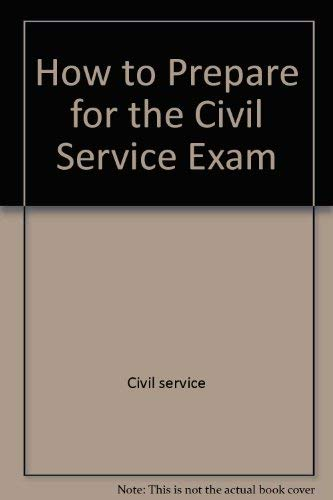 9780812028621: How to prepare for the Civil Service examinations for stenographer, typist, clerk, and office machine operator (Barron's Civil Service Clerical Exams)