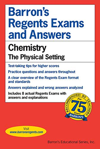Barron's Regents Exams and Answers: Chemistry