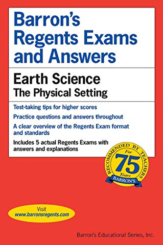 9780812031652: Barron's Regents Exams and Answers: Earth Science -- The Physical Setting
