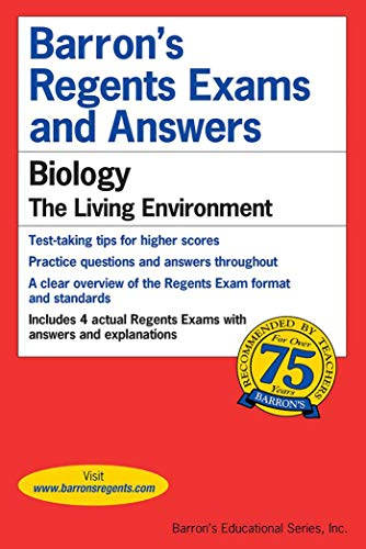 9780812031973: Barron's Regents Exams and Answers: Biology