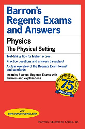 9780812033496: Regents Exams and Answers: Physics (Barron's Regents Exams and Answers)