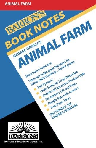 9780812034028: Animal Farm (Barron's Book Notes)