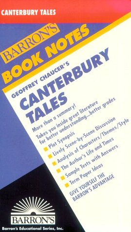 "9780812034066: ""Canterbury Tales"" (Book Notes S.)"