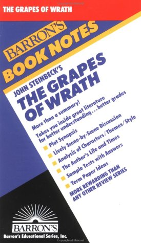 9780812034134: Grapes of Wrath, The (Barron's Book Notes)