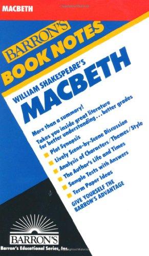 9780812034271: William Shakespeare's Macbeth (Barron's Book Notes)