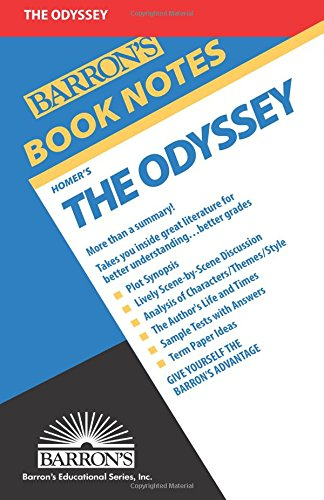 9780812034295: Homer's The Odyssey (Barron's Book Notes)