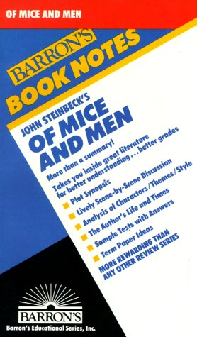 9780812034318: Of Mice and Men (Book Notes)