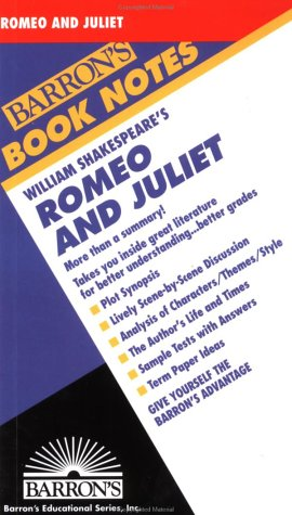 9780812034400: Romeo and Juliet (Barron's Book Notes)