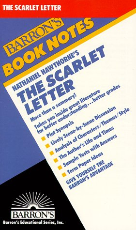 9780812034424: Nathaniel Hawthorne's the Scarlet Letter (Barron's Book Notes)