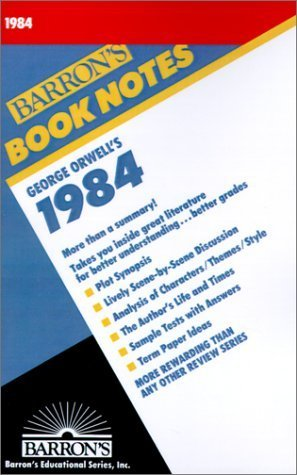 9780812034493: Barron's Book Notes: George Orwell's 1984