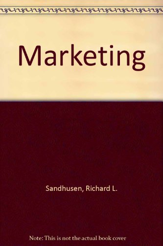 9780812034943: Marketing (Barron's business review series)