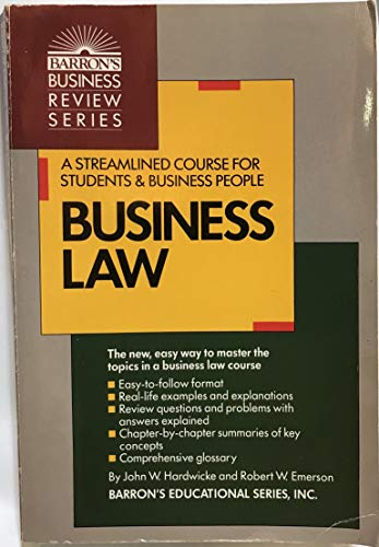9780812034950: Business Law