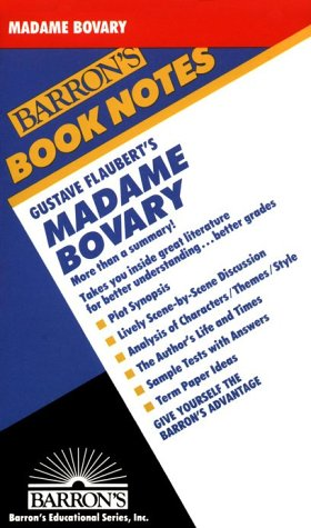 Gustave Flaubert's Madame Bovary (Barron's Book Notes): Lewis Warsh