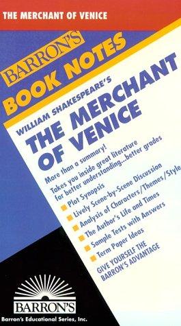 9780812035261: Merchant of Venice, The (Barron's Book Notes)