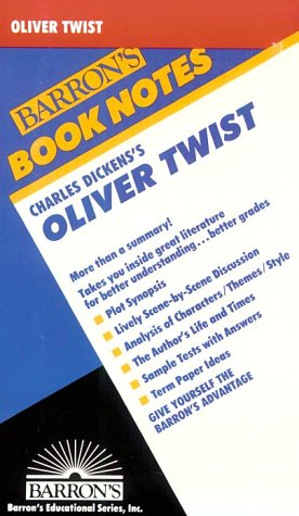 9780812035322: Charles Dicken's Oliver Twist (Barron's Book Notes)
