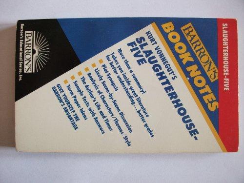 9780812035391: Kurt Vonnegut's Slaughterhouse-Five (Barron's Book Notes)