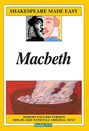 9780812035711: Macbeth: Modern English Version Side-By-Side with Full Original Text (Shakespeare Made Easy (Paperback))
