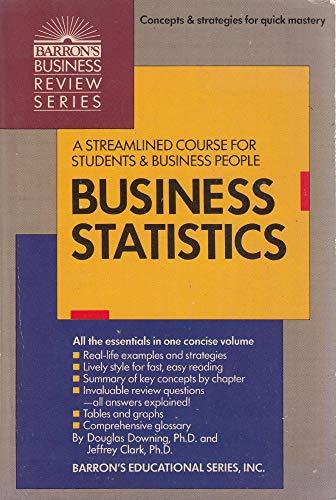 9780812035766: Business Statistics