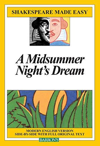9780812035841: Midsummer Night's Dream (Shakespeare Made Easy)