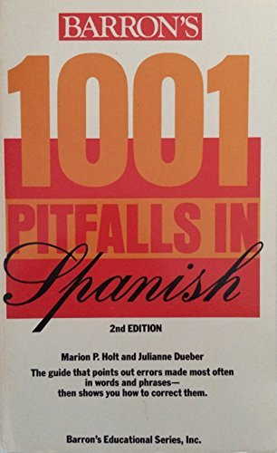 9780812037173: 1001 Pitfalls in Spanish (Pitfalls series)