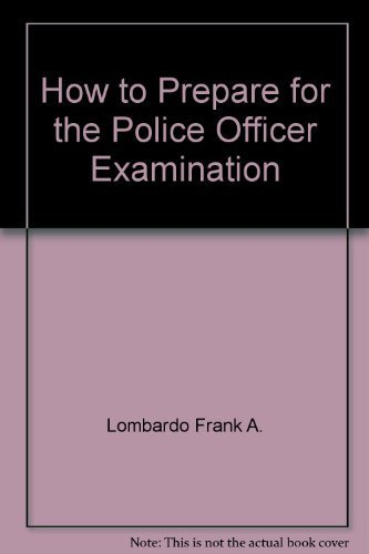 9780812038866: How to prepare for the police officer examination