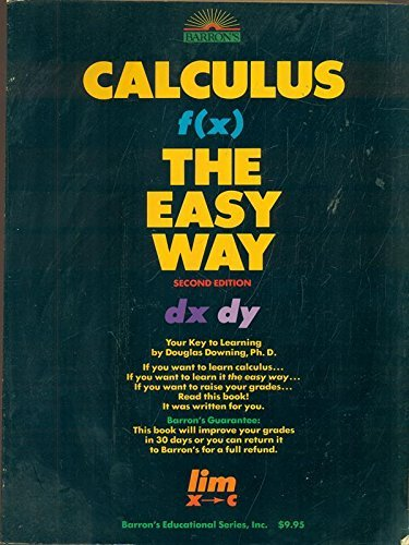 9780812040784: Calculus the Easy Way
