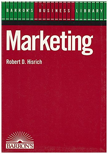 9780812041804: Marketing (Barron's Business Library)