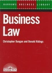 9780812041897: Business Law (Barron's Business Library)