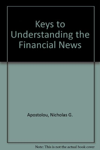 9780812042061: Keys to Understanding the Financial News