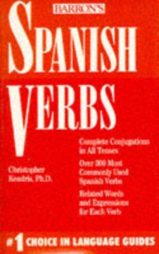 9780812042832: Spanish Verbs (Pocket verbs) (English and Spanish Edition)