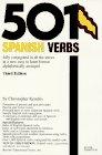 501 Spanish Verbs (501 verbs series): Christopher Kendris