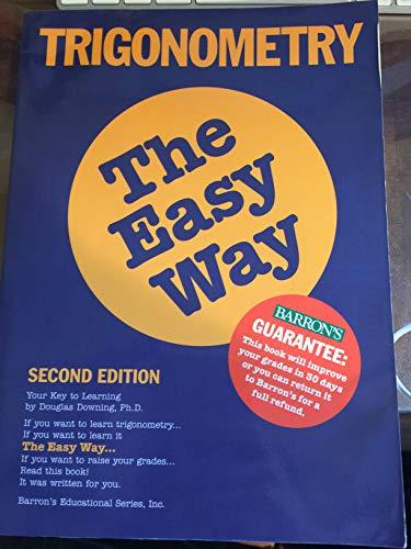 9780812043891: Barron's Trigonometry the Easy Way (E-Z Trigonometry)