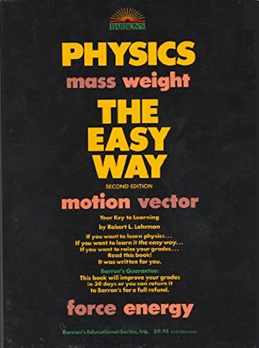9780812043907: Physics the Easy Way, 2nd Edition