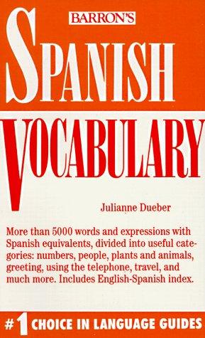 9780812044980: Spanish Vocabulary