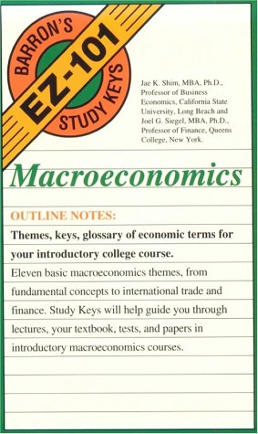 Macroeconomics: Jae K Shim,