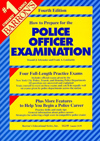 9780812048407: How to Prepare for the Police Officer Examination