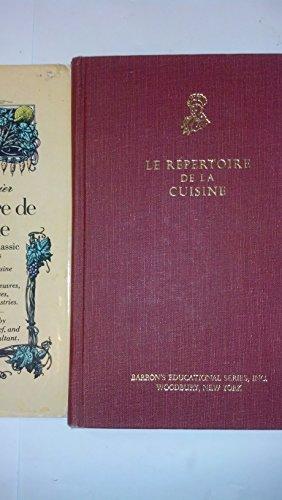 9780812051094: Le Repertoire De LA Cuisine