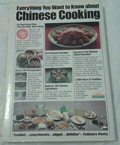 9780812053616: Everything You Want to Know About Chinese Cooking